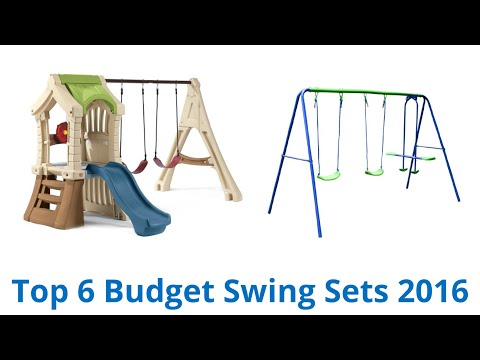 6 Best Budget Swing Sets 2016