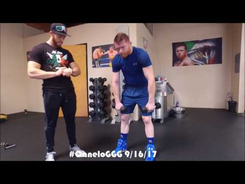 CANELO TRAINING CAMP UPDATE! 42 DAYS UNTIL CANELO VS GGG HBO PPV 9/16/17! HBO 24/7 AUGUST 26TH!