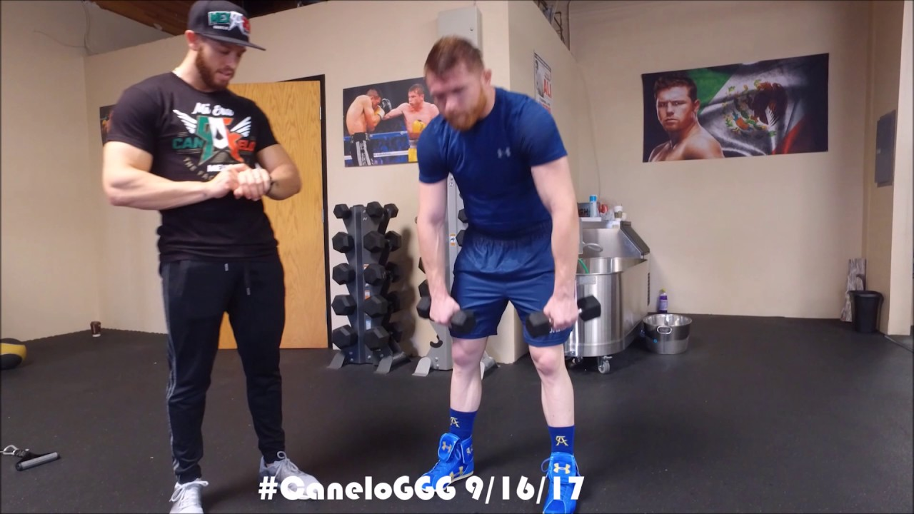 CANELO TRAINING CAMP UPDATE! 42 DAYS UNTIL CANELO VS GGG HBO PPV 9/16/17! HBO 24/7 AUGUST 26TH! #1