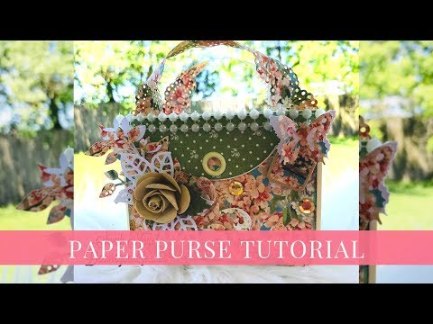[Tutorial] DIY Paper Purse by Sandi Nagel for Graphic 45