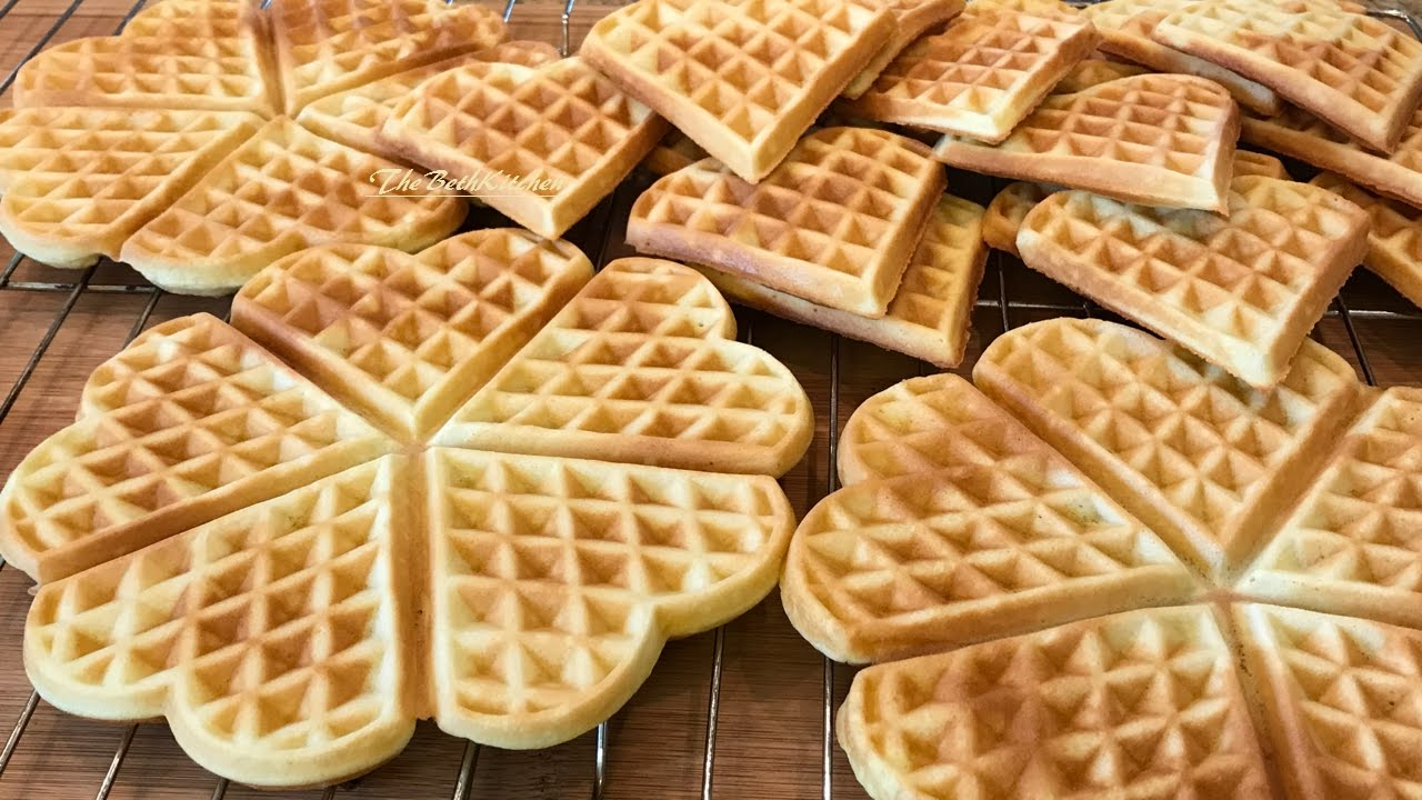 Bánh Kẹp Lá Dứa công thức dễ làm - Ngon