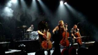 Apocalyptica - I'm Not Jesus & For Whom The Bell Tolls (Metallica cover) (08/12/2008)