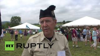 USA: See dogs in kilts and bagpipes galore as Scottish independence fever hits Virginia