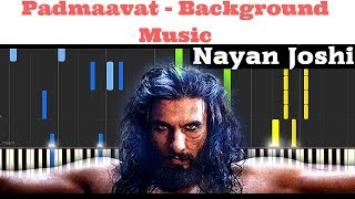 Padmavati Background Piano With Notes