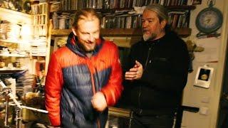Tomas Haake visiting Morgan Ågren [drumtalk special]