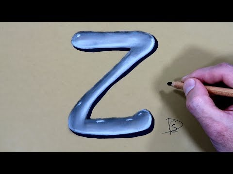 how-to-draw-a-letter-z-in-water-with-dry-pastel-pencils