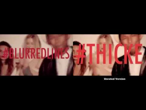 Unrated Version2 Robin Thicke Blurred Lines Unrated Version] ft TI Pharrell