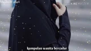 Lagu sholawat ALLAH ALLAH aghisna versi indonesia dan wanita bercadar