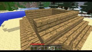 Comment faire une maison en survie rapidement sur Minecraft épisode 1