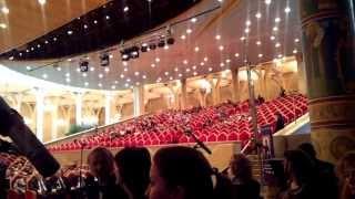 Концертный зал Храма Христа Спасителя в Москве (вид со сцены)