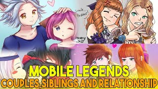 ML COUPLE, SIBLINGS AND RELATIONSHIP - MLBB
