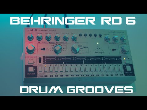 Behringer RD-6 - Sound Demo With Some Effects (No Talking)