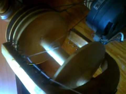 Прялка электрическая метелица - YouTube