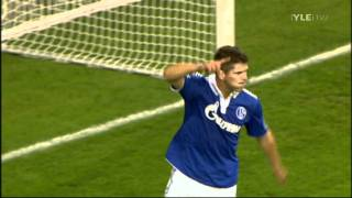 Klaas-Jan Huntelaar 4 goals against HJK Helsinki // UEFA Europa League (25/8/11)