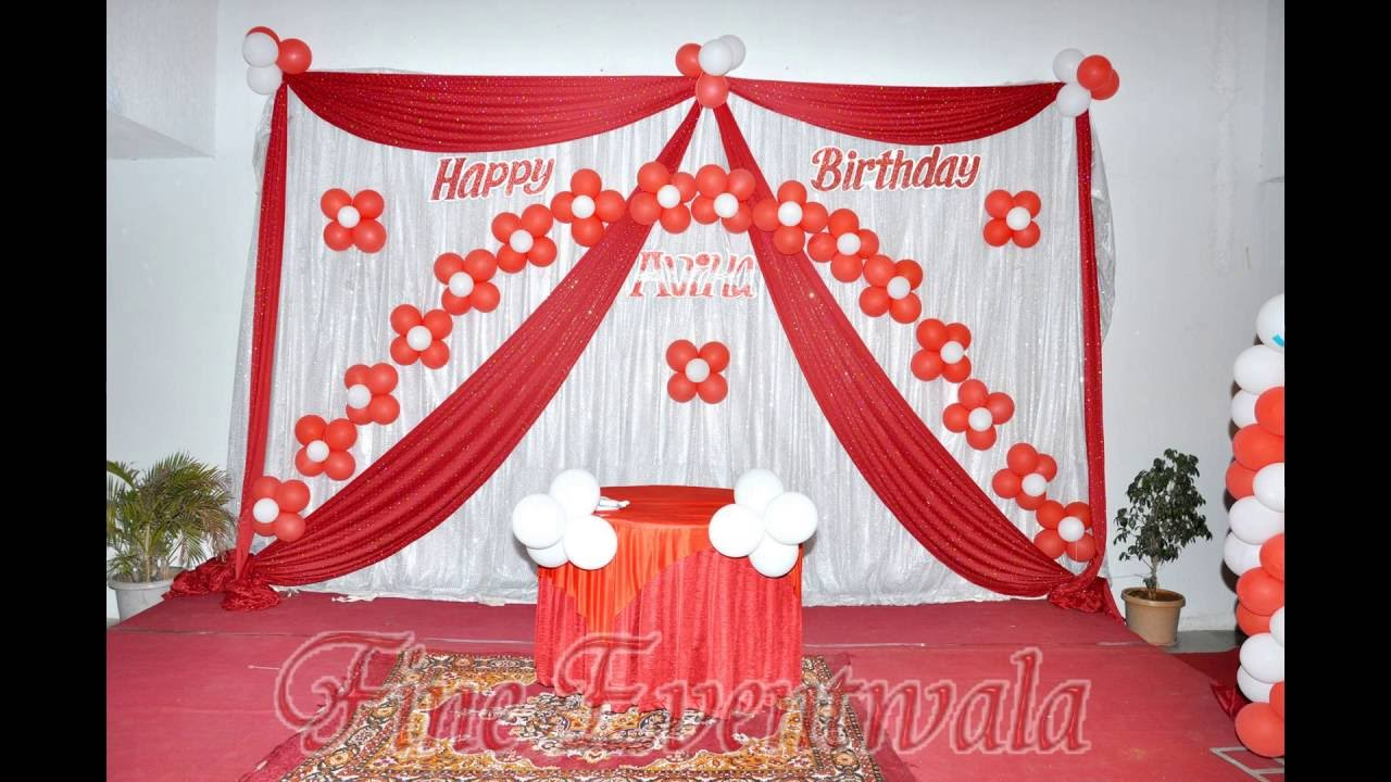 Birthday Balloon Decorating Ideas Birthday Party Mobile