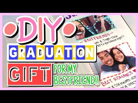 DIY YEARBOOK - GRADUATION GIFT(on a budget) || Cat Nguyen