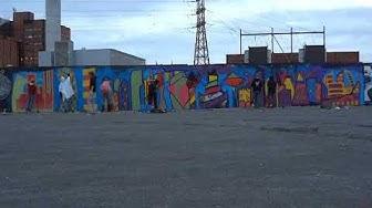 Arkki Kalasatama Graffiti 2012