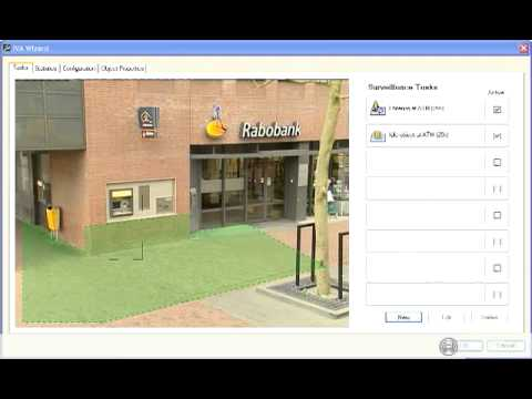 IVA can detect loitering and idle objects   demonstration of a 20sec time period