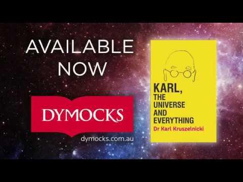 Dr Karl at Dymocks
