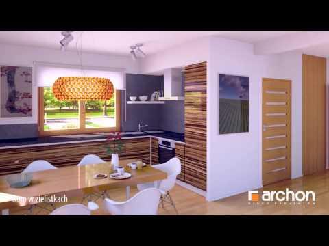Дом в хлорофитуме -Увлекательнaя прогулкa - проект ARCHON+