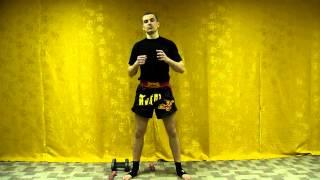 Тайский бокс Тренировки - Как увеличить силу удара? (Работа с гантелями)(В этом видео уроке по тайскому боксу, я покажу вам классные упражнения с гантелями для увеличения силы удар..., 2013-04-16T14:46:19.000Z)
