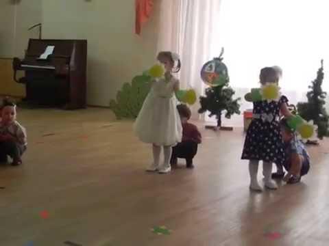 Видео Ромашки-букашки (младшая группа)