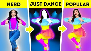 How To Become POPULAR GAMER Just DANCE Minecraft S MS In REAL L FE – By La La Life Games