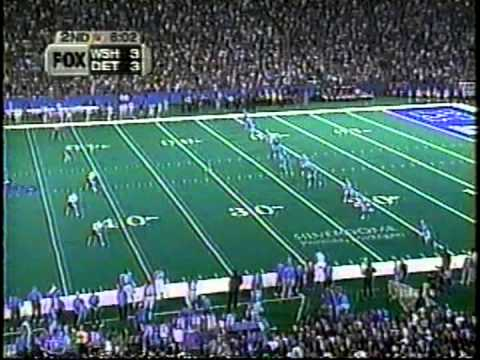 1999 Redskins Plays from Loss 5 at Detroit Lions