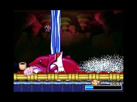 Kirby Super Star Ultra Boss 18 Fatty Whale Youtube