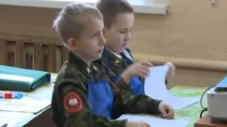 Кадеты школы №15 в Вологде подготовили открытки для солдат