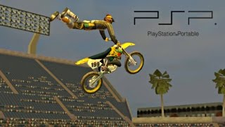 MTX Mototrax PSP (PPSSPP) HD gameplay (2006)