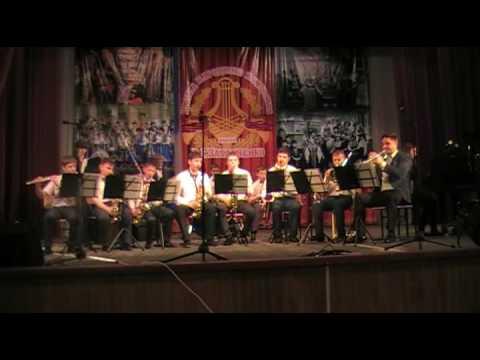 """Детский эстрадный оркестр Си-джаз """"Ча- ЧА- ЧА"""" дши станицы Тбилисской"""