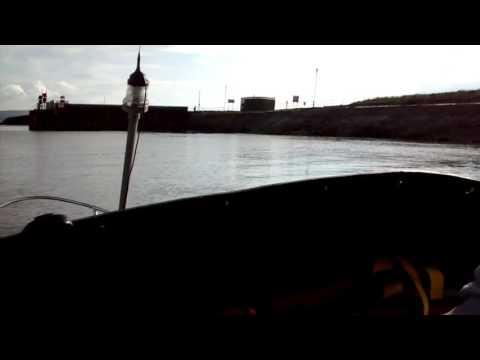 Burry Port harbour 4/4/16 Shetland 535 Johnson 60 VRO (JONNY ROGER)