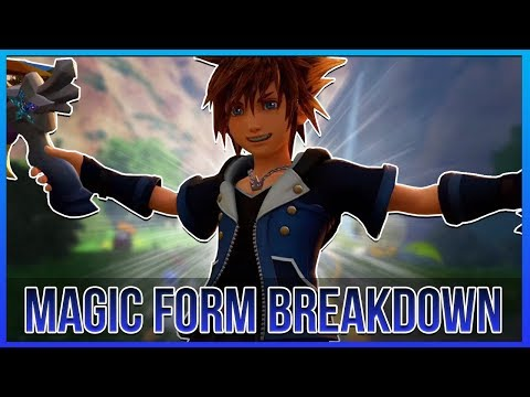 Kingdom Hearts 3 - MAGIC FORM Breakdown! (Evolution, Combos and Abilities)