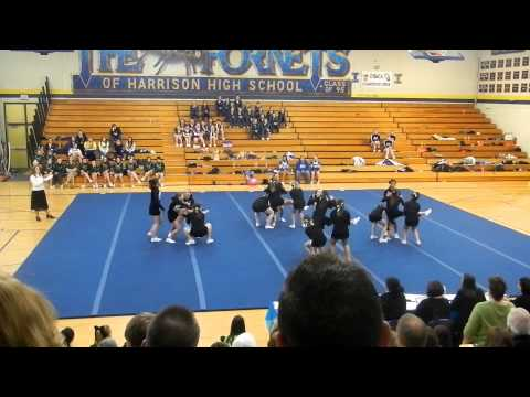 Houghton Lake Middle School Cheer round 3