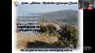 Worship Service, April 18 2021; Wake Up!- Revelation 3:1-6, Rev. Kenesha Blake-Newell