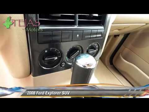 2008 Ford Explorer Suv Lubbock Midland Amarillo