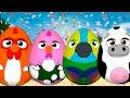 ¡A Cantar con Huevos Sorpresa! Bartolito, Bataraza, Vaca Lola y Loro Pepe    La Granja de Zenón