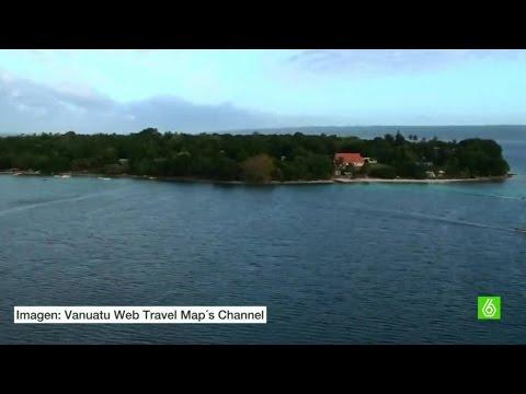 La isla de Vanuatu podría desaparecer por los efectos del cambio climático