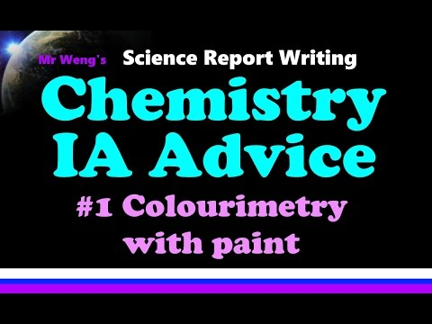 ib chemistry ia 2 About the ia getting started the assessment criteria and how to apply them can be found in the internal assessment details section of the ib chemistry guide.