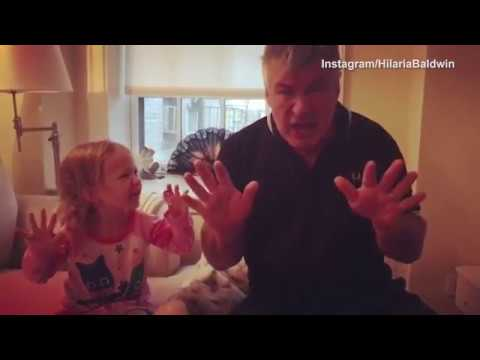 Thumbnail: Alec Baldwin & Daughter Carmen Do His Donald Trump Impression