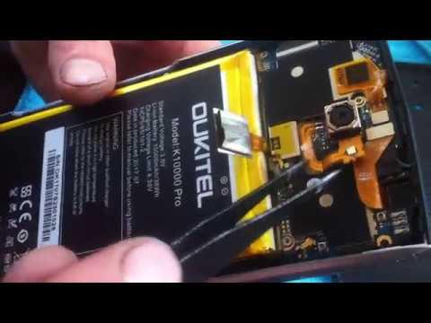 Oukitel K10000 Pro Разборка Ремонт Не включається