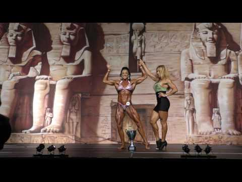 2017 IFBB Europa Charlotte Women's Physique Overall Video