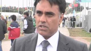 Interviews with Dignitaries at Jalsa Salana UK 2014