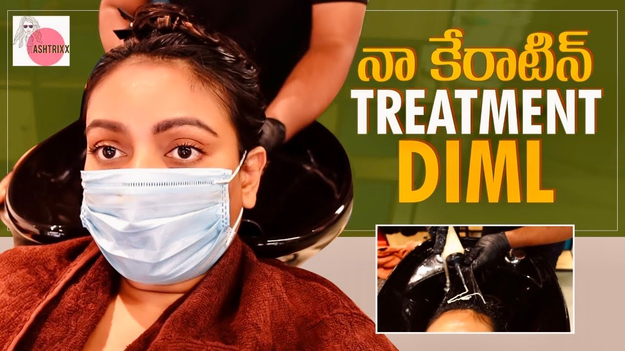 Permanent HAIR smoothning with Keratin treatment || Get fit with MB biozyme protein || Ashtrixx
