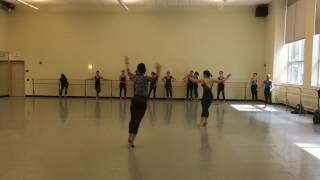 Modern Dance Class 2017. P.P.U