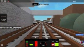 Roblox - Deep Level Cab Ride! - UK Train Simulator