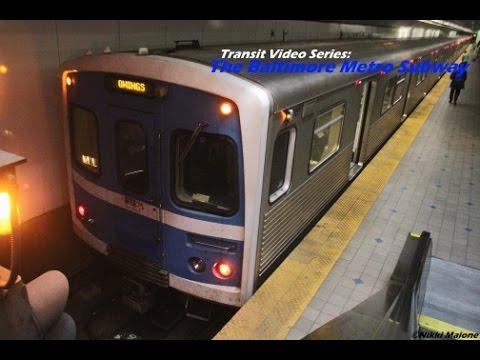 Tvs The Baltimore Metro Subway Soon To Be Baltimore Metro