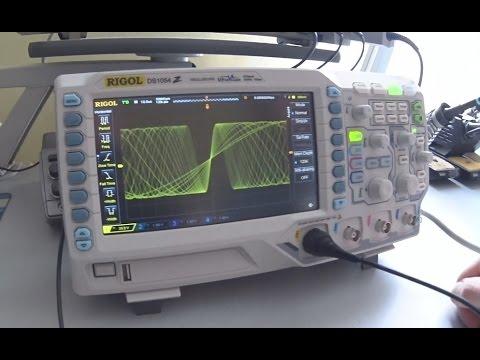 Oscyloskop Rigol DS1054Z Unboxing i pierwsze testy!