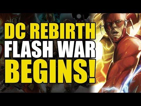 The Flash War Begins! (DC Rebirth: Flash War Part 1)